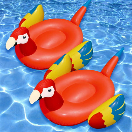 Swimline Giant Parrot Float for Swimming Pools, Pack of 2](Giant Parrot)