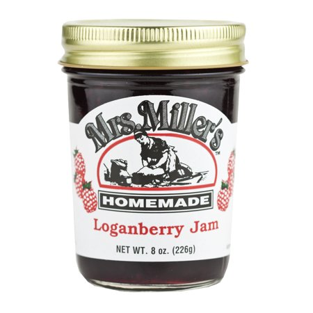 Loganberry Jam - Mrs. Miller's Loganberry Jam 8 oz. (2 Jars)