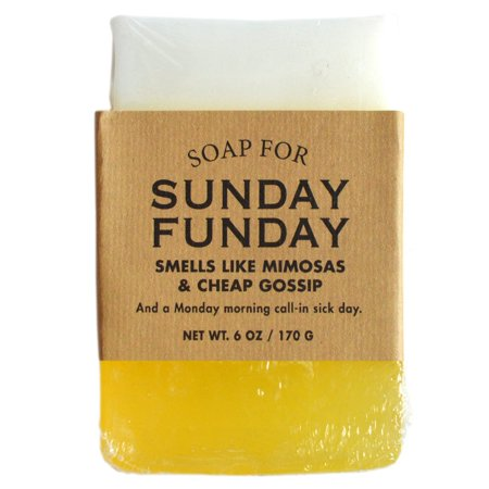 Whiskey River Soap Co. - Soap for Sunday Funday 6 oz, Mimosas Scented (Mikasa Bar)