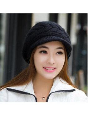 Fancyleo Knit hat Suitable Autumn and Winter Duck Hat Tongue Multi-Color Optional