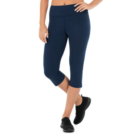 Women's Dri-Works Core Active Capri - Button Cuff Legging
