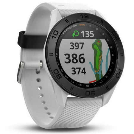 Garmin Approach S60 White Band Gps Enabled Golf Watch