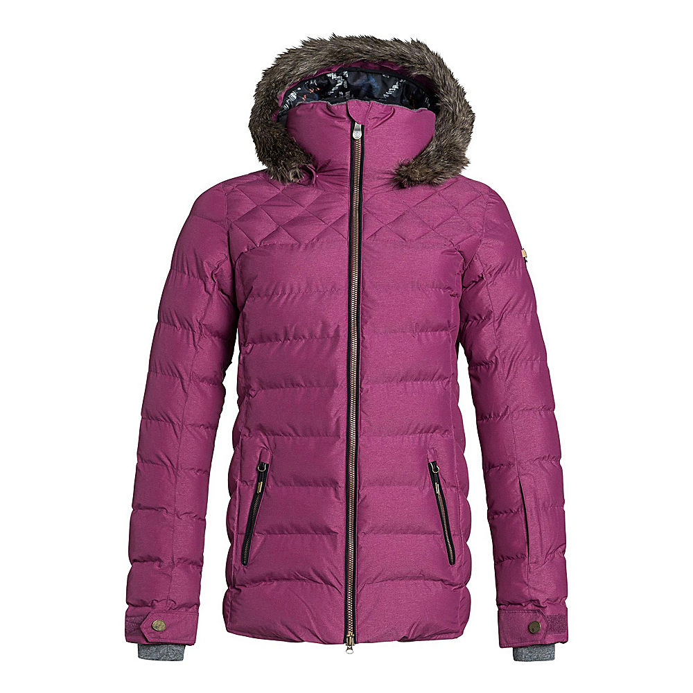 Roxy Quinn w/Faux Fur Womens Insulated Snowboard Jacket