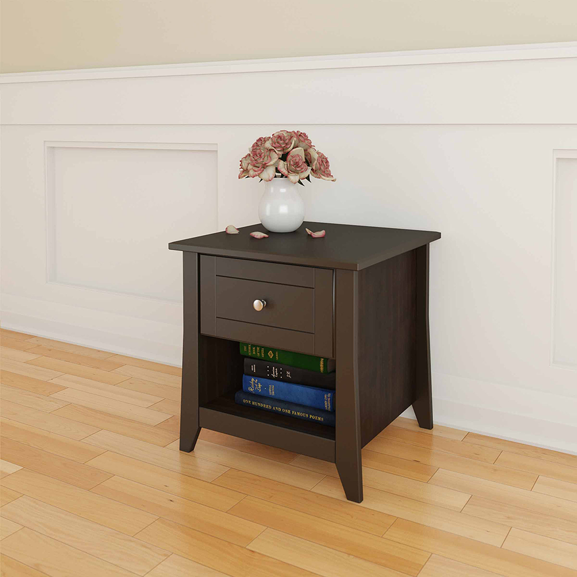 Elegance End Table, Espresso