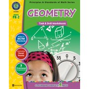Geometry - Task & Drill Sheets Gr. PK-2 - eBook