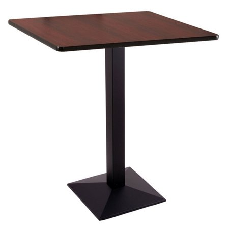 Holland 36 217 Square Counter Pub Table 36' Glass Pub Table