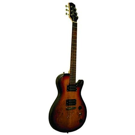 kona spalted sunburst electric guitar. Black Bedroom Furniture Sets. Home Design Ideas