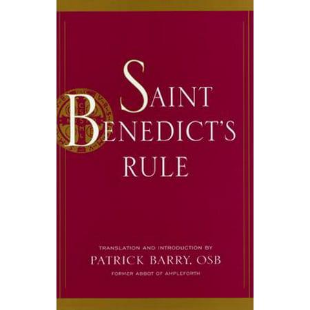 Rule Satin - Saint Benedict's Rule