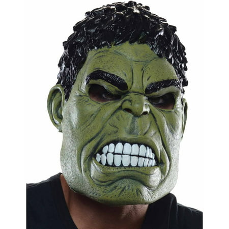 Hulk 3/4 Adult Mask Adult Halloween Accessory