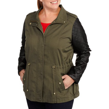 Trendy women plus burberry at quilted size walmart coats for spring fashion