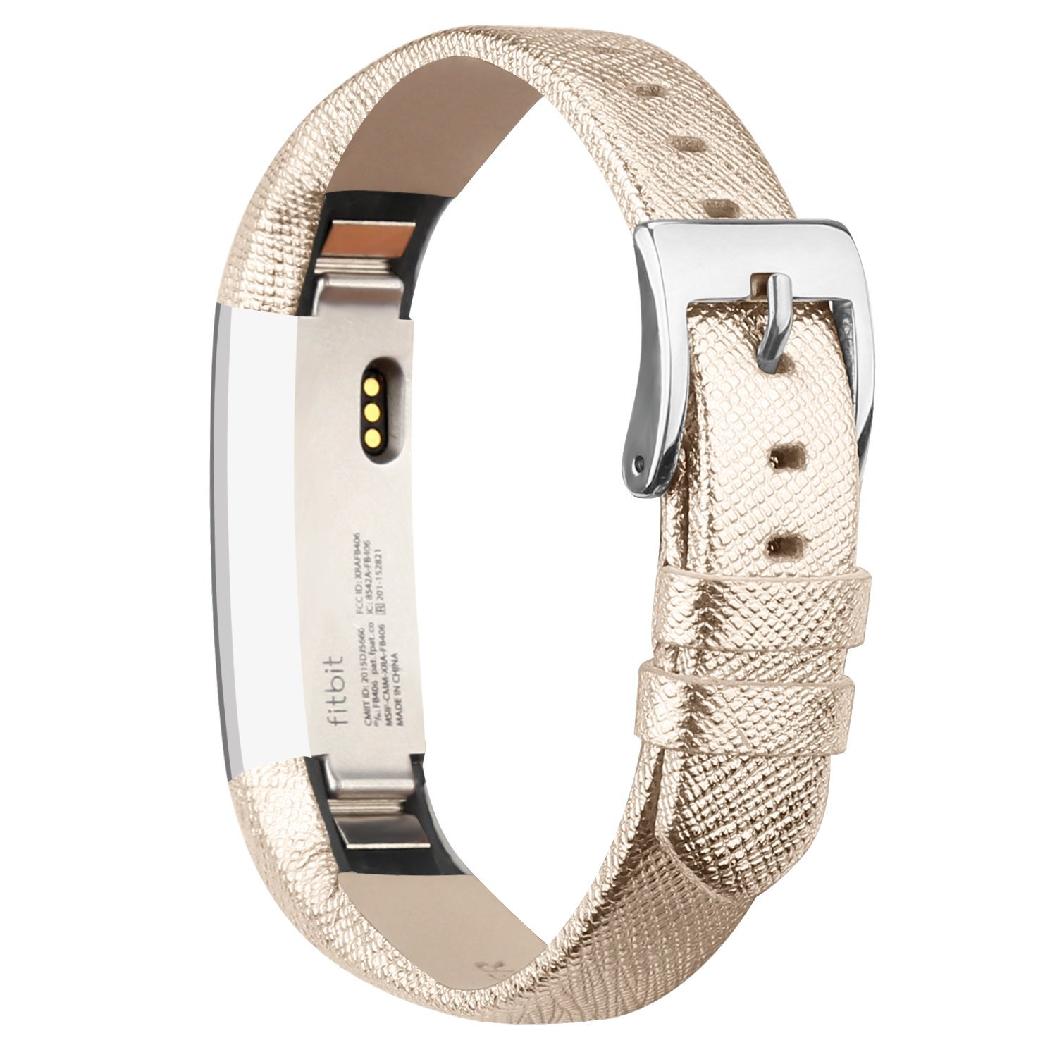 AdePoy Replacement Bands For Fitbit Alta Leather Wristband Sport Strap Band For Fitbit Alta/Fitbit Alta HR