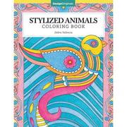 Design Originals-Stylized Animals Coloring