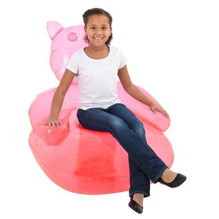 Tremendous Kids Pink Inflatable Gummy Bear Chair Pabps2019 Chair Design Images Pabps2019Com