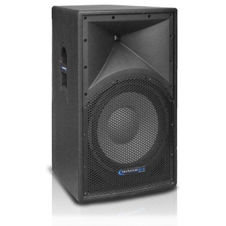 High Definition Powered Loudspeaker - Technical Pro High Power Professional 15