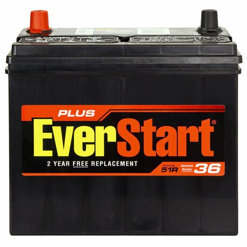 EverStart Plus 51R-4 Automotive Battery