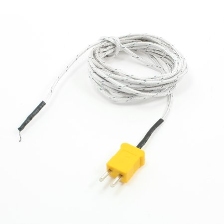 K Type 0-400C Temperature Sensor Thermocouple Probe 3 Meter 9.8Ft 3 Meter Welding Paper