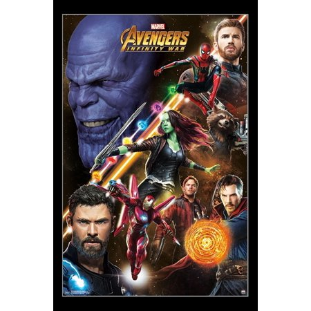 Avengers Infinity War - Challenge Poster Print - Walmart.com