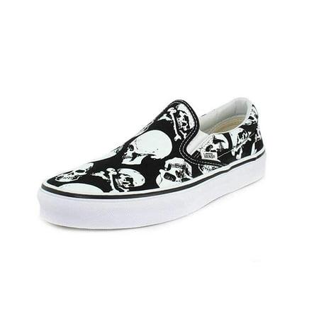 Vans - Vans VN-0A38F7H0B  Mens Classic Skulls Black True White Slip On (5.5  D(M) US Men) - Walmart.com 7cd4a895e