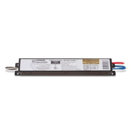 Howard Lighting Products EPL2-32IS-MV-MC-HE 2 Lamp F32T8 Electronic Fluorescent Ballast