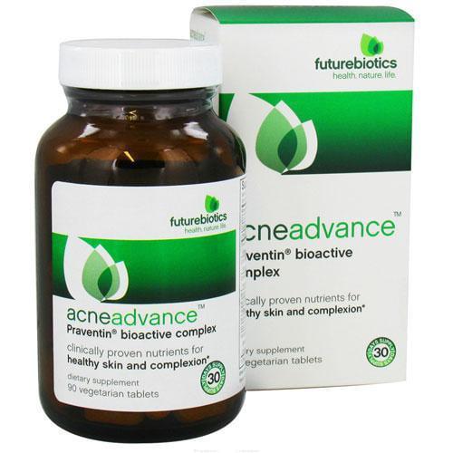 Futurebiotics Acneadvance Praventin Bioactive Complex Vegetarian Tablets, 90 Ea, 6 Pack