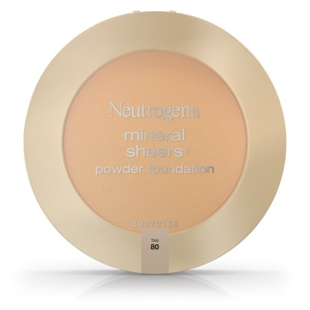 Neutrogena Mineral Sheers Compact Powder Foundation Spf 20, Tan 80,.34 Oz.