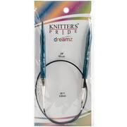 "Dreamz Fixed Circular Needles 24""-Size 11/8mm"