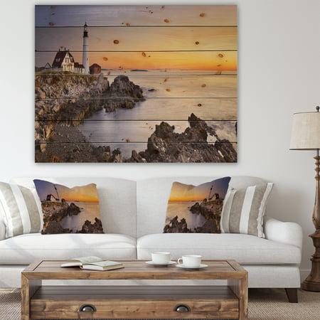 Design Art - Portland Head Lighthouse Maine - image 4 de 5