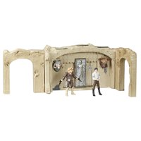 Star Wars The Vintage Collection Episode VI Return of the Jedi Jabba's Palace Adventure Set Playset with 3.75-Inch-Scale Han Solo and Ree Yees Action Figures