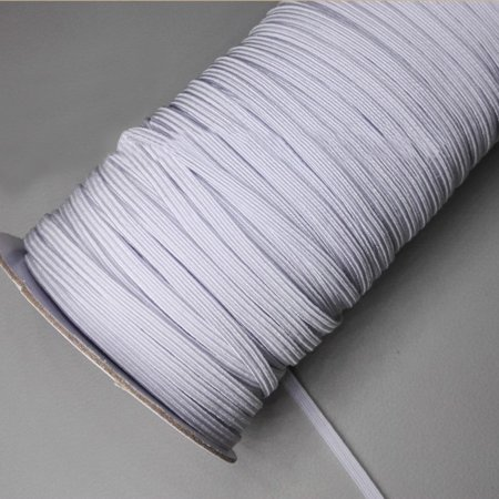 90 Yards 1 8 Width Braided Elastic Cord For Mask Sewing Crafting