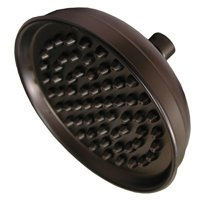 "Old World Bronze 10"" Round Shower Head with Metal Tips ,PartNo S0186WB JonesStep"