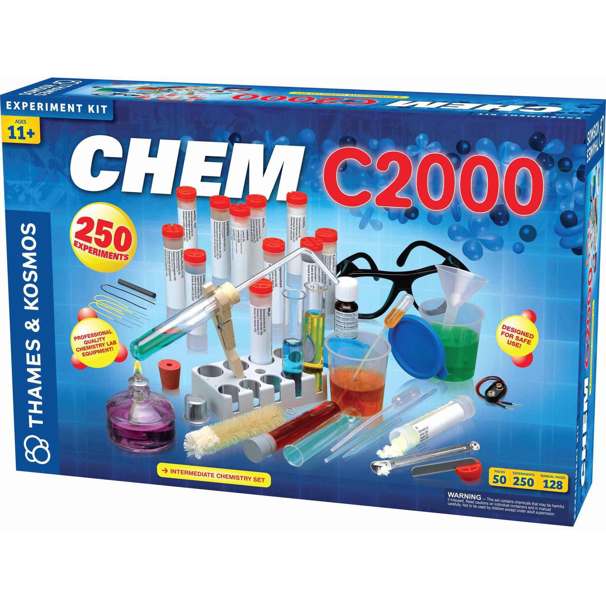 Thames & Kosmos CHEM C2000 Science Experiment Kit by Thames & Kosmos LLC