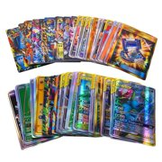 Mojoyce 120pcs GX Cards Desktop Game Shining Battle Pokemons Trading Child Kids Toy