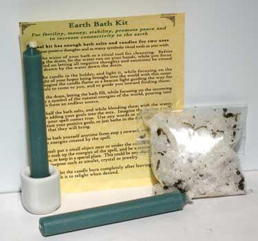 RBI Ritual Supplies Earth Bath Kit Spiritual Protection Healing