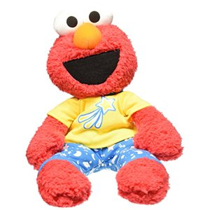 Gund Sesame Street Elmo Pajama Pal Stuffed Toy Plush