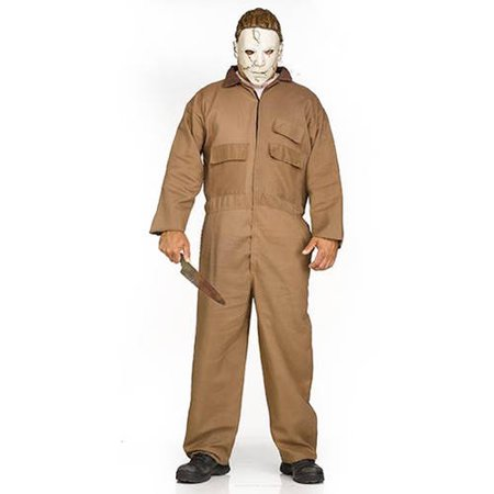 Fun World MICHAEL MEYERS ADULT HALLOWEEN COSTUME