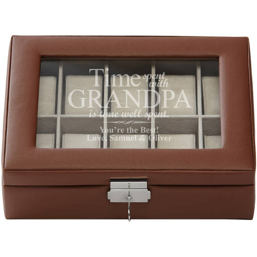 Personalized The Best Times Watch Box
