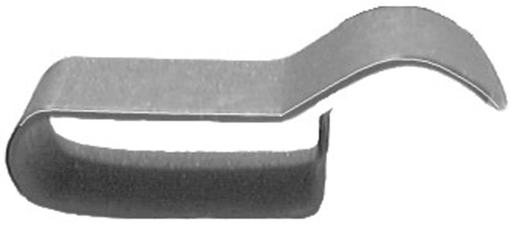 Clipsandfasteners Inc 15 Wire Routing Clip Holds 3//16 Dia Wire 9//32 Stem