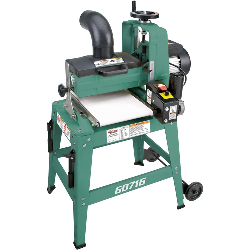 "Click here to buy Grizzly G0716 10"" Drum Sander."