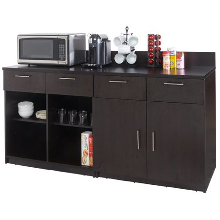 Breaktime 2 Piece Coffee Break 36 39 39 X 72 39 39 Pantry Cabinet