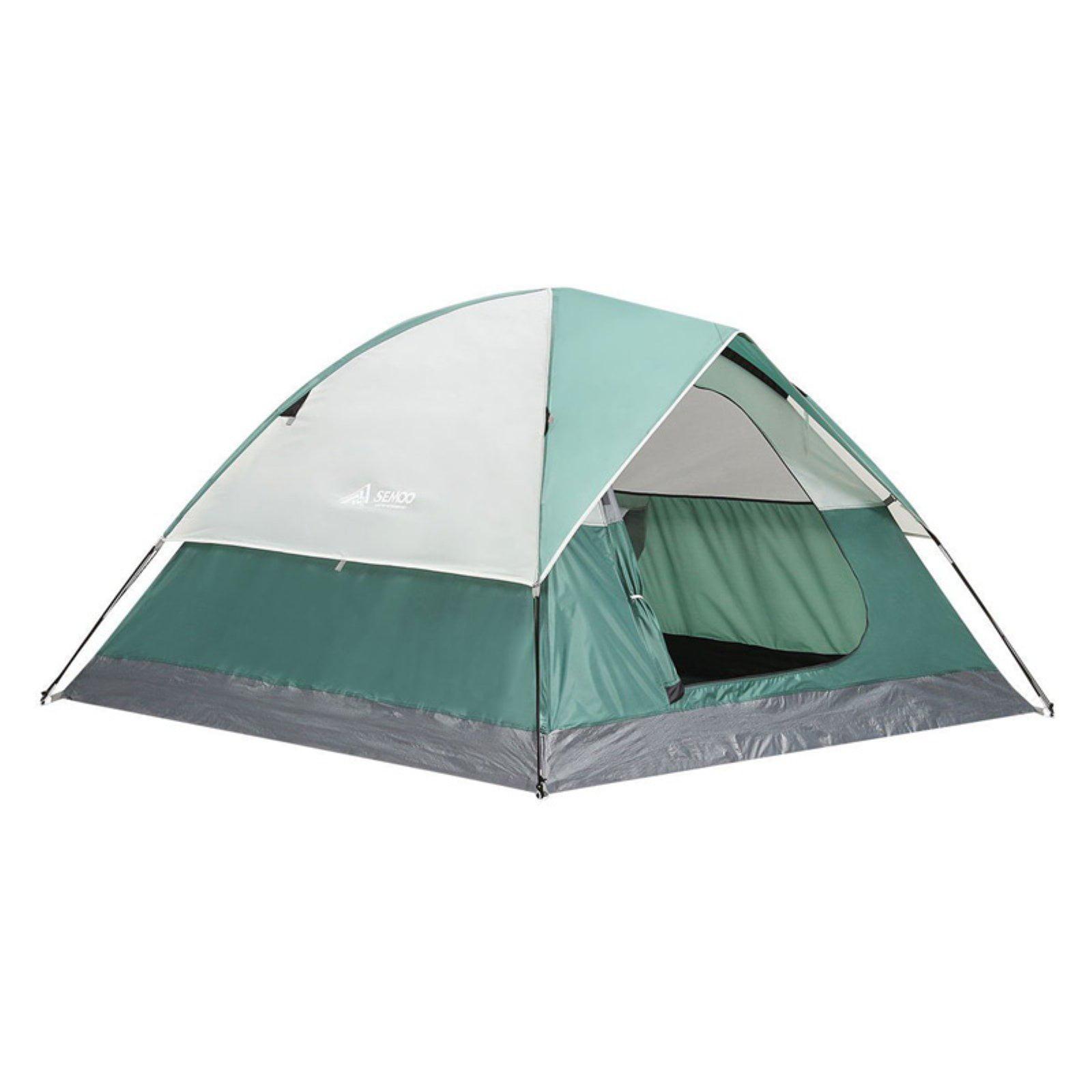 Semoo 3 Person Family 3 Season Camping Tent With Carry Bag Walmart Com Walmart Com