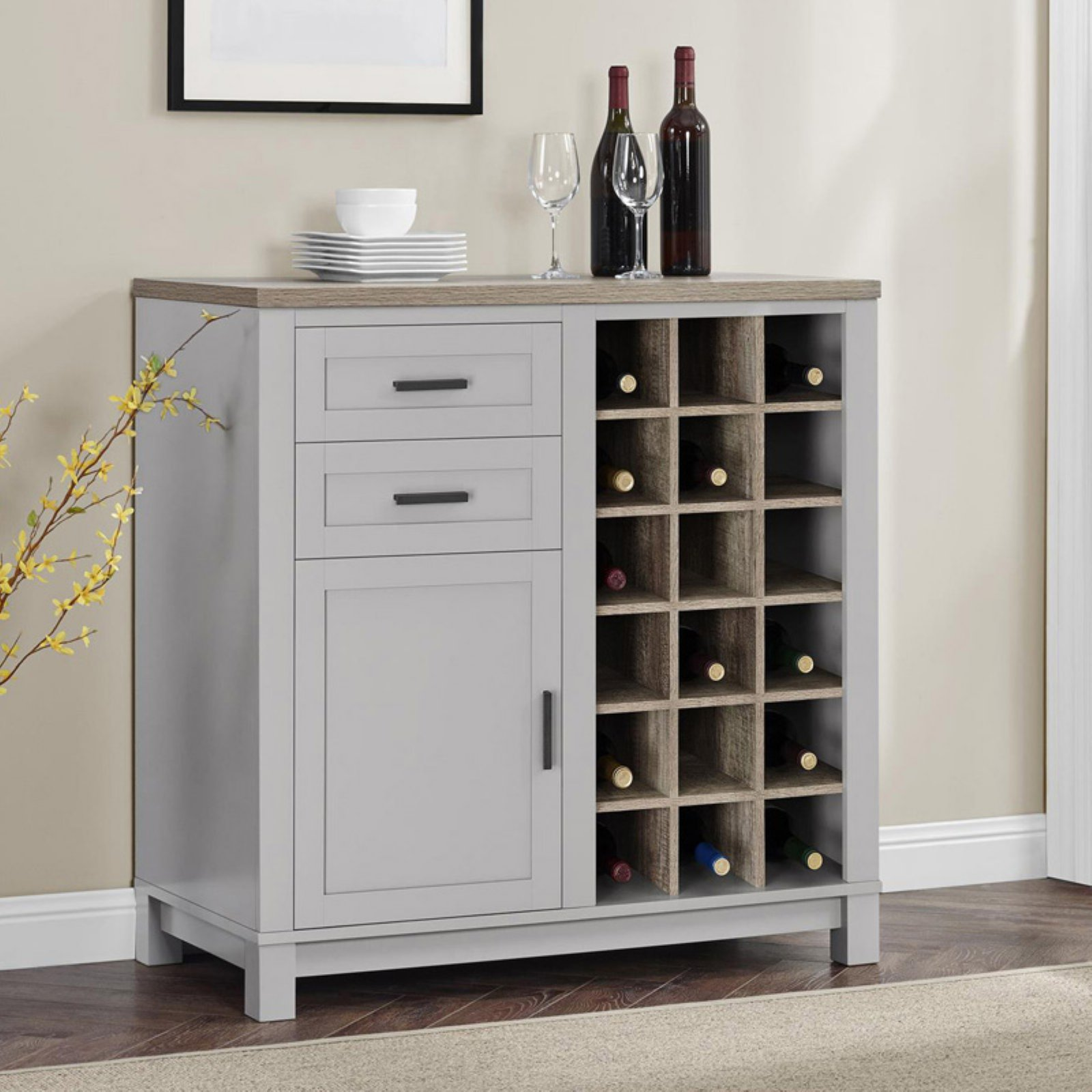 walmart wine cabinet better homes and gardens langley bay wine cabinet 28145