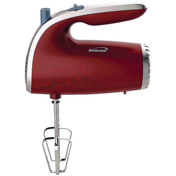 5 SPEED HAND MIXER RED