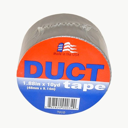 JVCC DUCT10YD 10 Yard Duct Tape: 2 in. x 30 ft. (Silver)