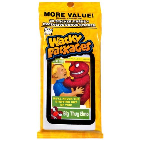 Wacky Packs - 2014 Topps Wacky Packages Series 1 Retail Jumbo Pack