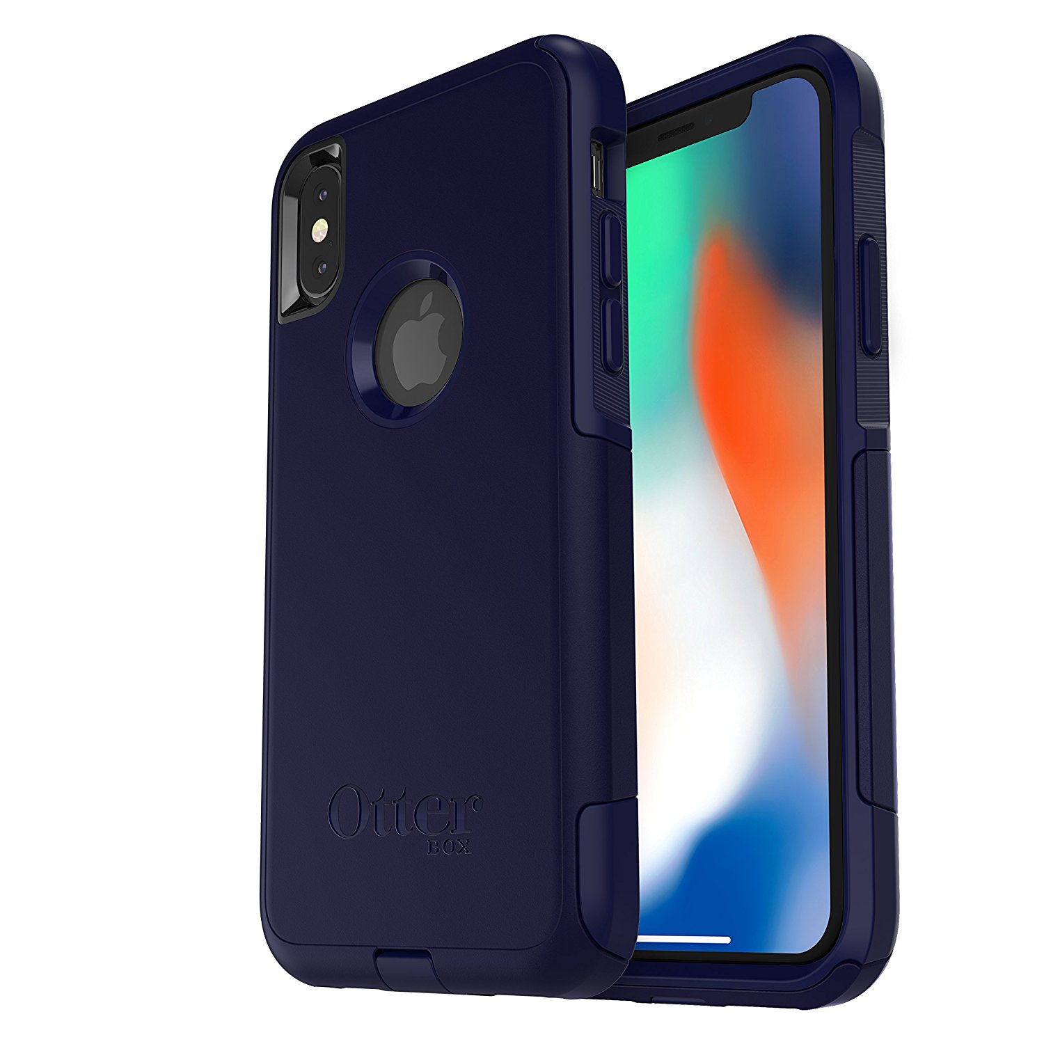 OtterBox COMMUTER SERIES Case for iPhone X (ONLY) - INDIGO WAY (MARITIME BLUE/ADMIRAL BLUE)