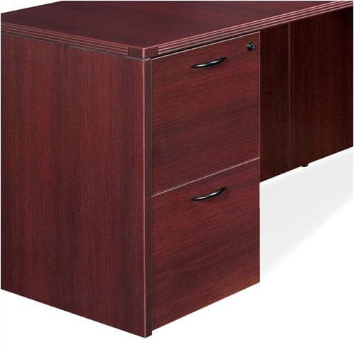 OSP Furniture Napa File/File Desk Pedestal