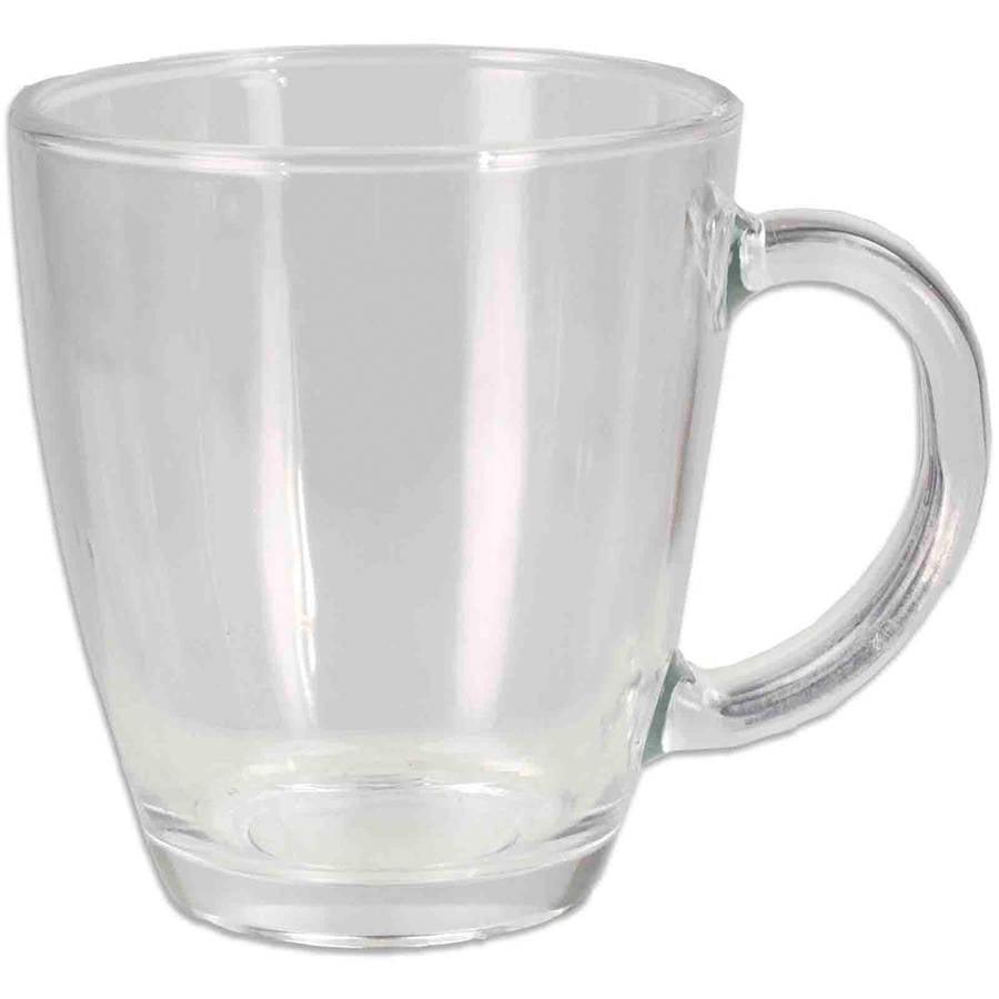 Home Basics Glass Mug