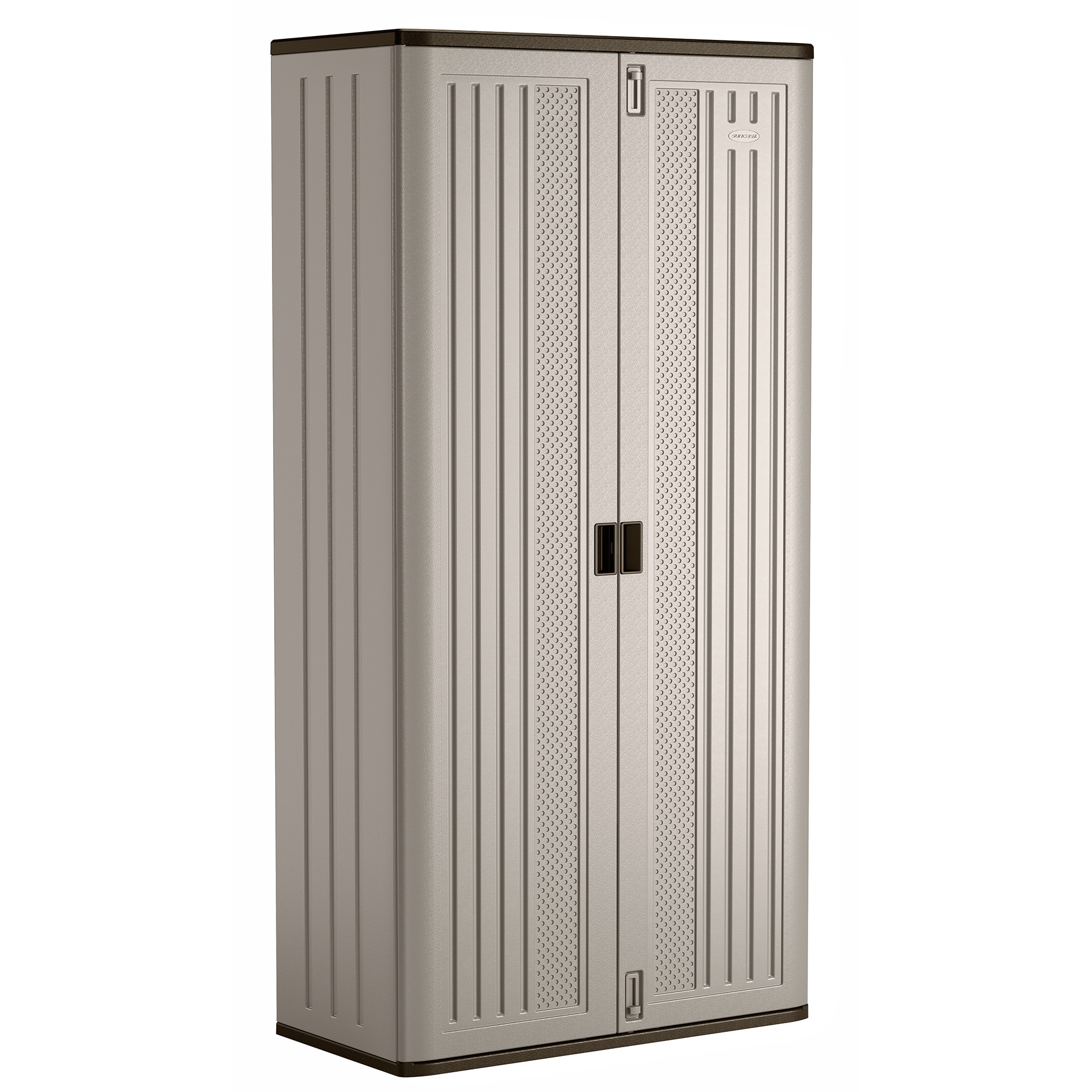 Suncast Mega Tall Storage Cabinet, Resin, BMC8000