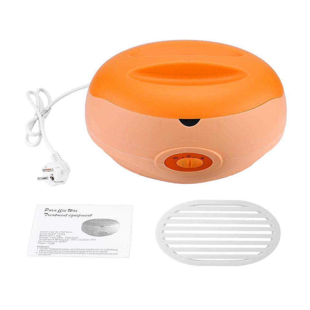Paraffin Therapy Bath Wax Pot Warmer Beauty Salon Spa Wax Heater Equipment Keritherapy System Orange