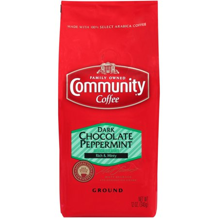 Community® Coffee Dark Chocolate Peppermint Ground Coffee 12 oz. Bag